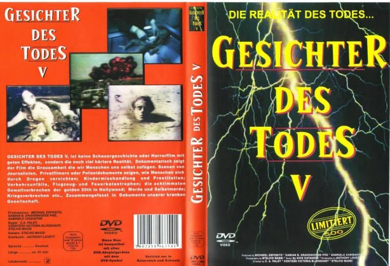 Gesichter des Todes 5 DVD
