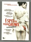 I SPIT ON YOUR GRAVE, Remake, unrated Dvd, Schuber