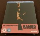 RAMBO 2  - BLURAY - STEELBOOK - UNCUT