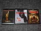 Hostel 1,2,3 (1-3 Unseen, Uncut, I,II,III) Blu Rays